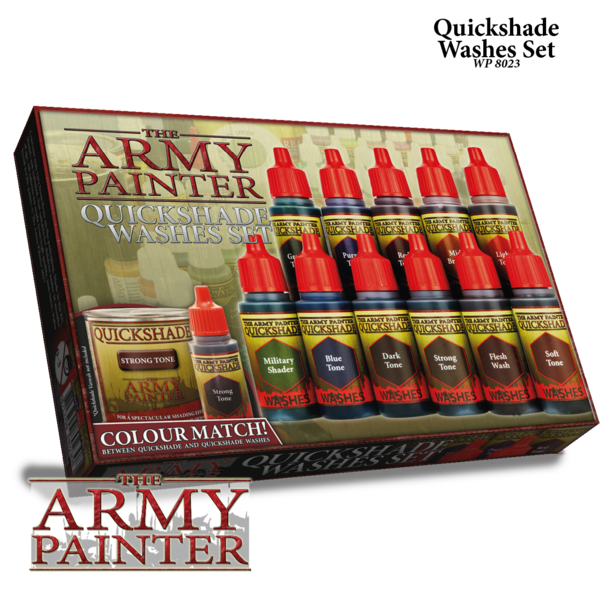 Army Painter Quickshades Washes Set