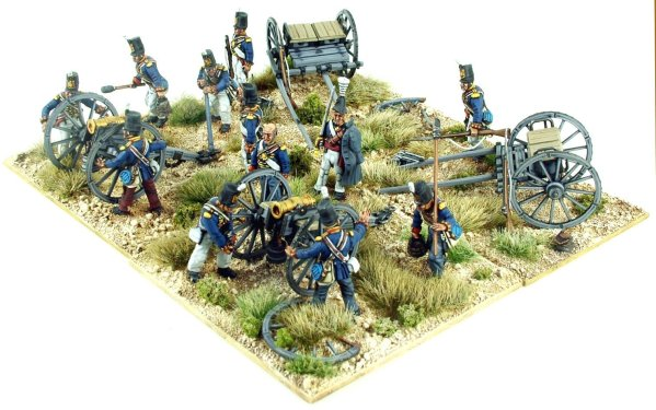 British Napleonic Foot Artillery