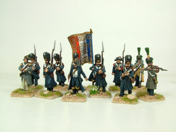 Napoleon's Old Guard Grenadiers