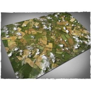 Game mat - Aerial Fields - Mousepad 120x180