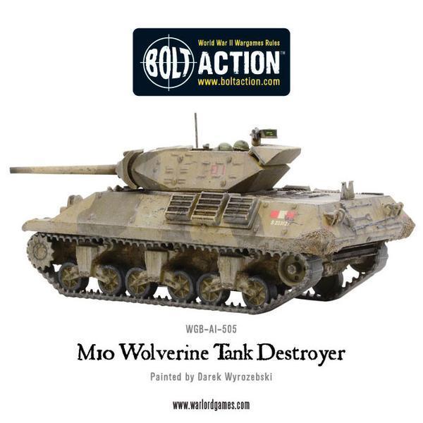 Bolt Action - M10 Tank Destroyer/Wolverine