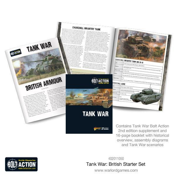 Tank War British starter set