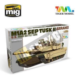 M1A2 TUSK II ABRAMS 1/72