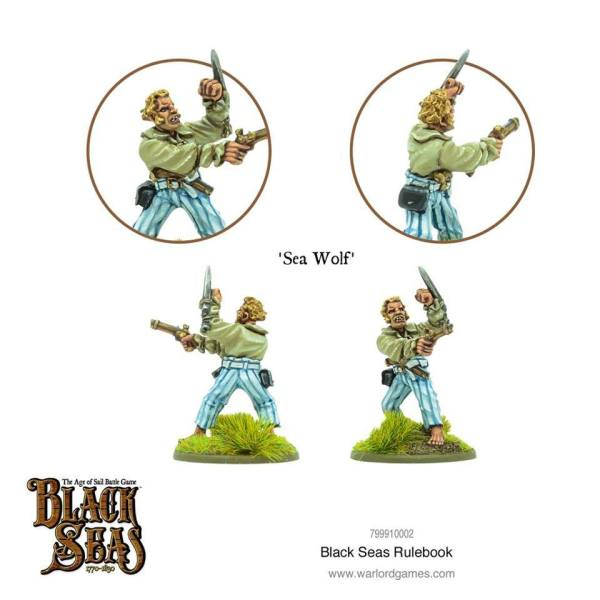 Black Seas - Master & Commander starter set