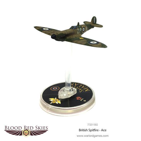 Blood Red Skies - British Spitfire Ace (Sailor Malan)