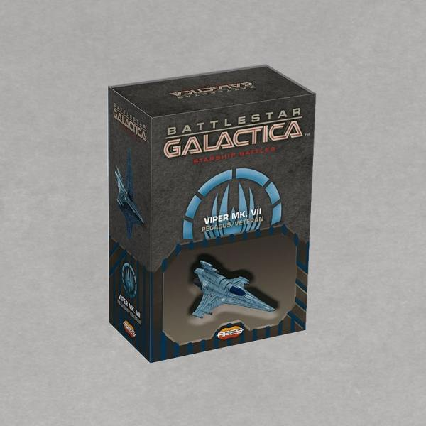 Battlestar Galactica Starship Battles - Spaceship Pack: Viper Mark VII Vétéran