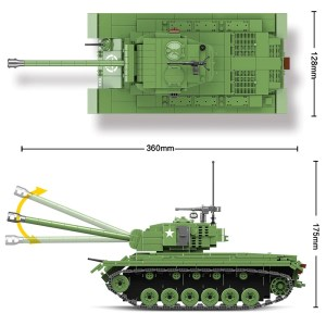 M26 Pershing- 1013 pièces