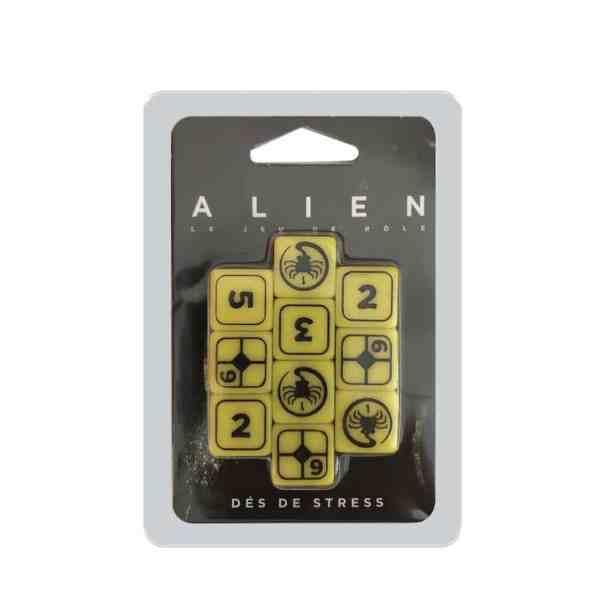 Alien, le jeu de rôle – Set de dés de stress