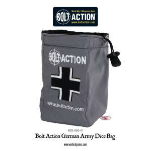 Bolt Action German Army Dice Bag