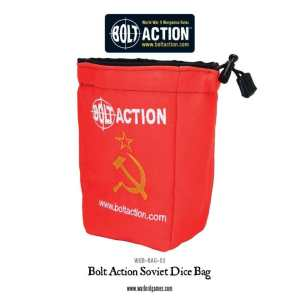 Bolt Action Soviet Dice Bag