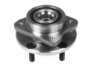 Hub and bearing assembly.