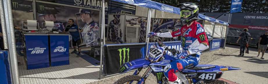 Romain Febvre at the 2018 Grand Prix of Belgium