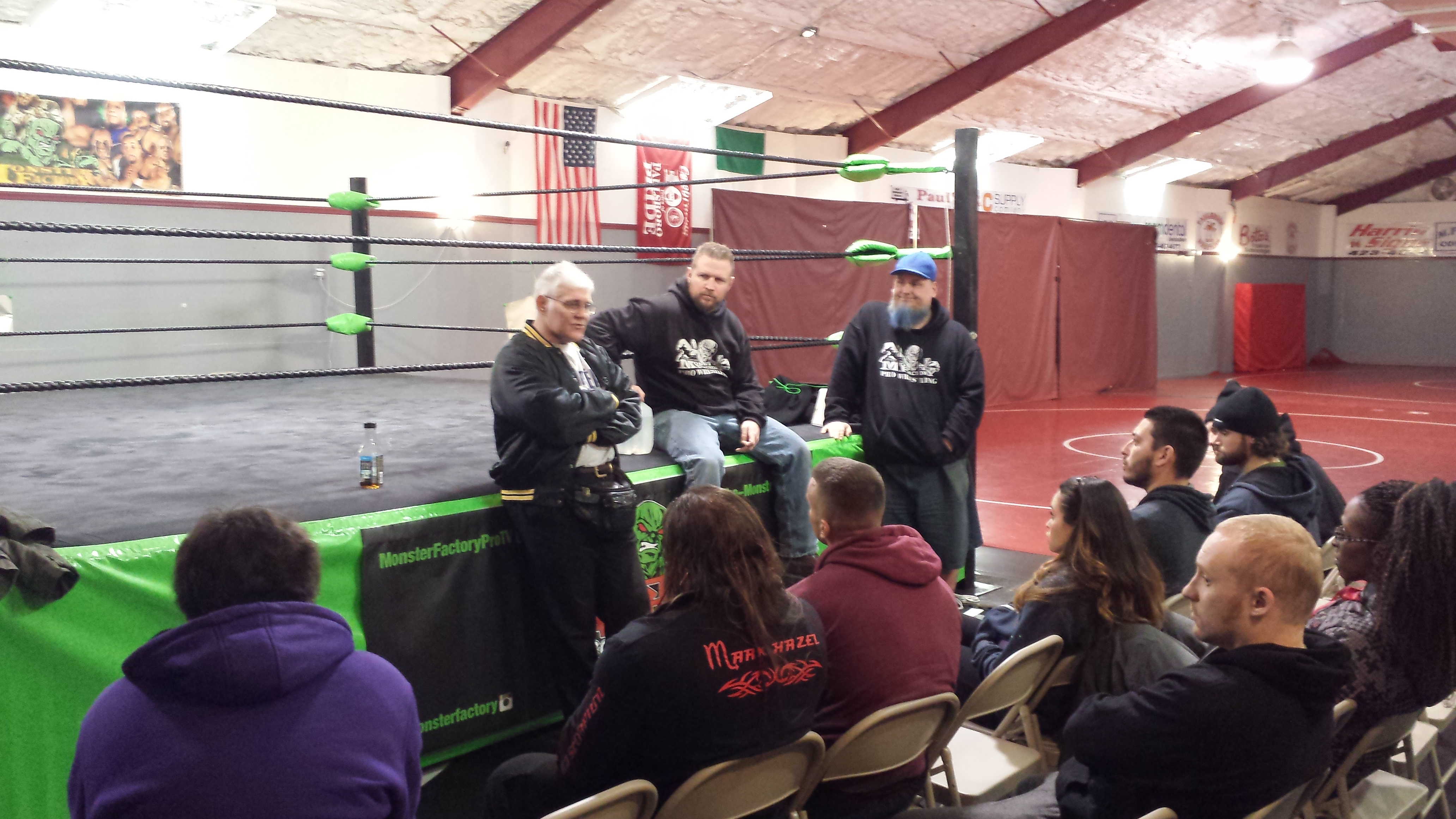 A Career in Professional Wrestling: Training at The World