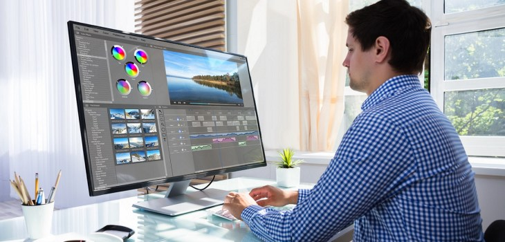 best monitor for video editing in India featured img