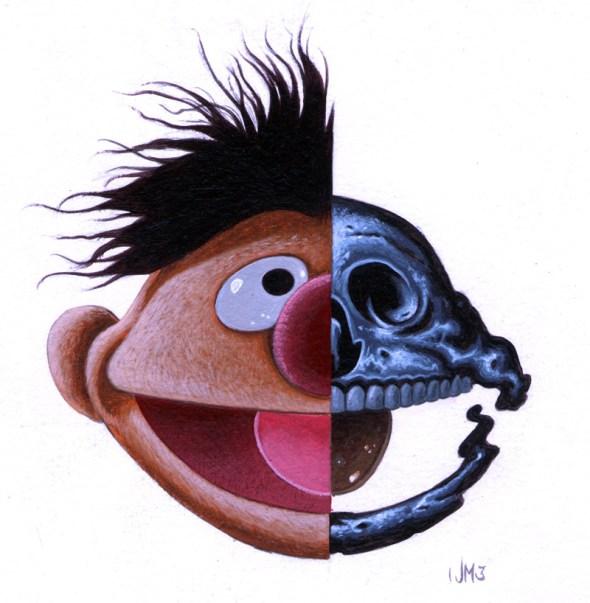 JeffMcMillan_ernie_-skull