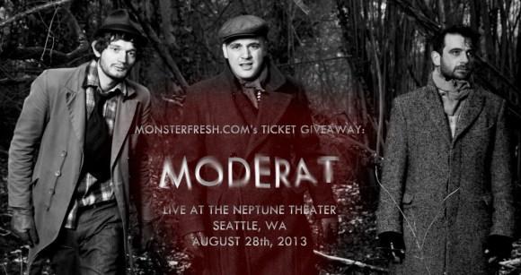 moderat giveaway