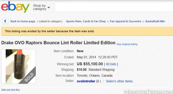 ebay drake lint roller