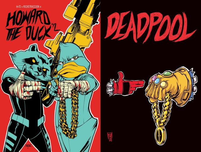 RTJ MARVEL COVERS