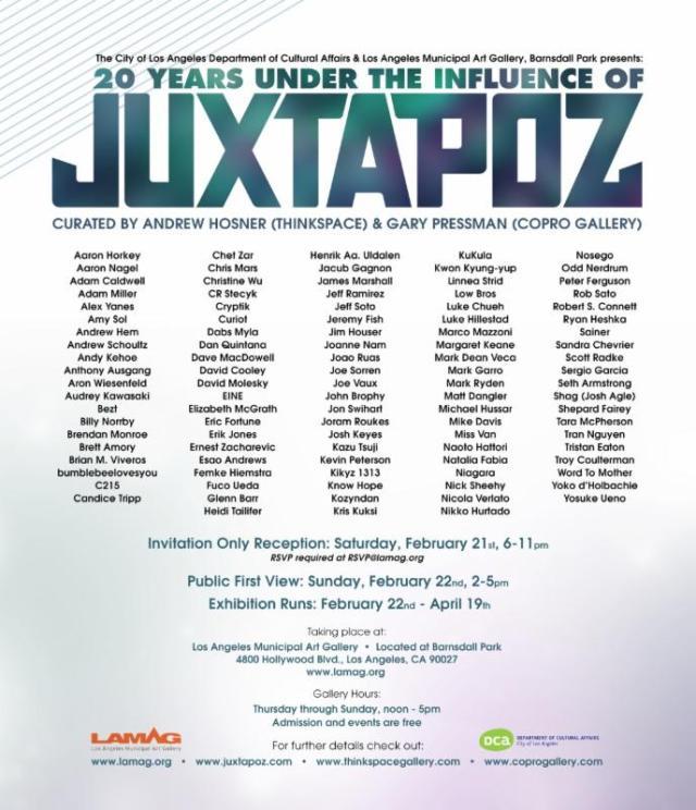 Jux 20 flyer