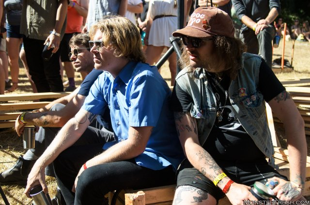 [From Left] Cory Hanson, Ty Segall, & King Tuff