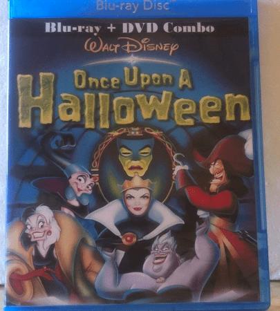 Disney's Once Upon A Halloween Blu-ray & DVD Combo Set