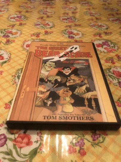 The Great Bear Scare Halloween DVD
