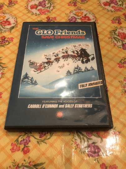 The GLO Friends/Worms Save Christmas DVD
