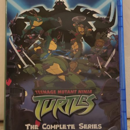 "Teenage Mutant Ninja Turtles TMNT 2003 The Complete Series 7 Seasons 155 Episode and ""Mayhem from Mutant Island"" plus the Movie ""TV Version and Directors Cut"" on 10 Blu-ray Discs in 720p HD"