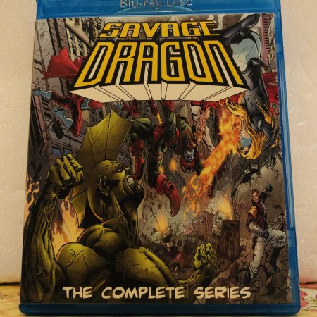 Savage Dragon The Complete Series 2 Seasons with 26 Episodes on 2 Blu-ray Discs in 720p HD