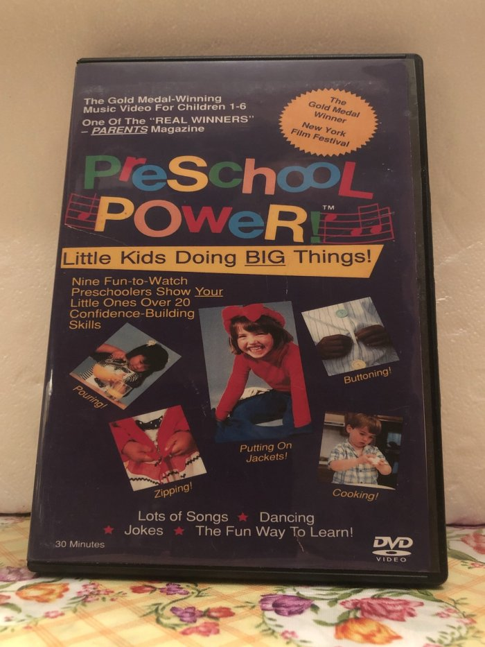 Preschool Power Vol. 3 Jacket Flips and Other Tips on DVD