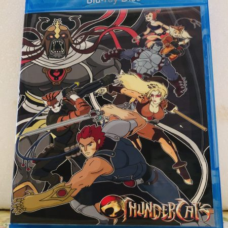 Thundercats (2011) The Complete Series 26 Episodes Set on 2 Blu-ray Discs in 720p HD