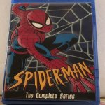Spider-Man the Animated Series The Complete Series 5 Seasons with 65 Episodes on 7 Blu-ray Discs in 1080p HD with 5.1DD Surround Sound