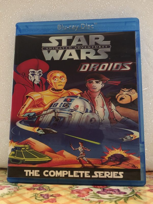 Star Wars Droids The Complete Series 13 Episodes Set plus Special on 2 Blu-ray Discs in 720p HD