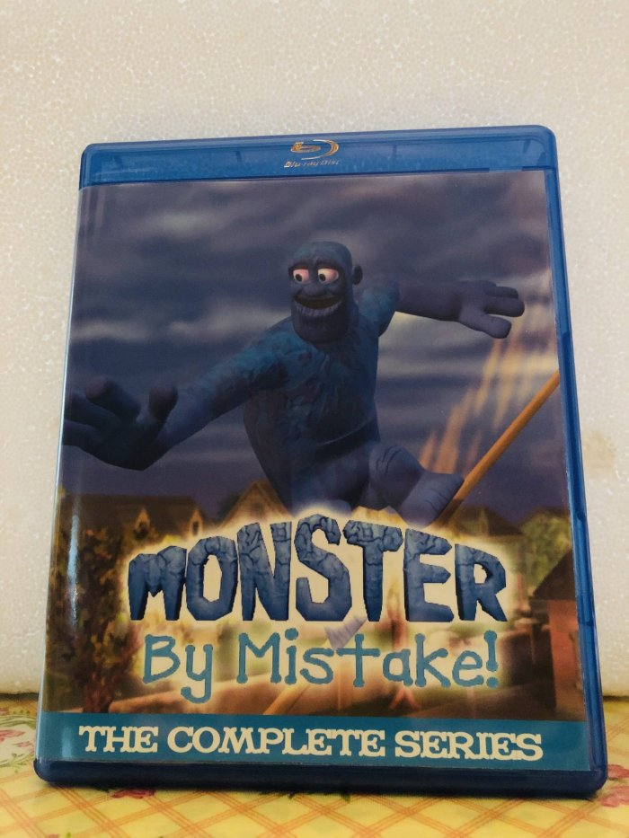 Monster By Mistake The Complete Series 3 Seasons with 52 Episodes plus Pilot on 4 Blu-ray Discs in 720p HD