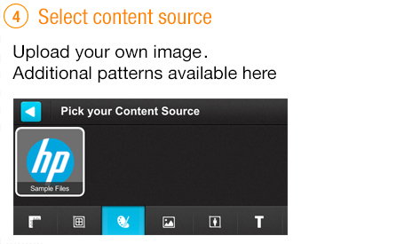 Select content source