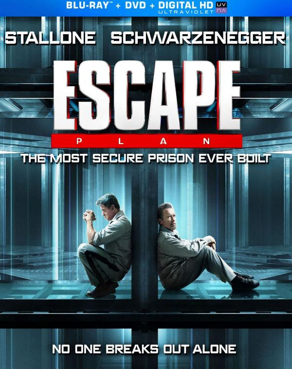 Sylvester Stallone & Arnold Schwarzene​gger star in Escape Plan arriving on Blu-ray, DVD and VOD February 4 from Lionsgate Home Entertainm​ent.