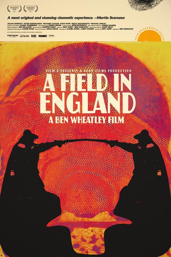 @A Field in England One-Sheet by artist Jay Shaw.