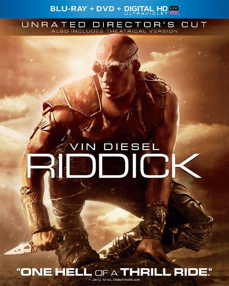 Riddick arrives on Blu-ray in an extended cut.