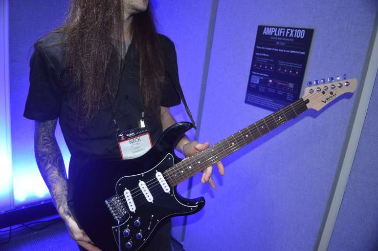 Nick with Variax