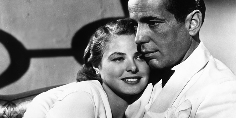 A scene from Casablanca