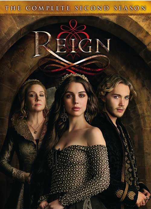 Reign: The Complete Second Season expands the story of Queen Mary Stuart and her husband King Francis.