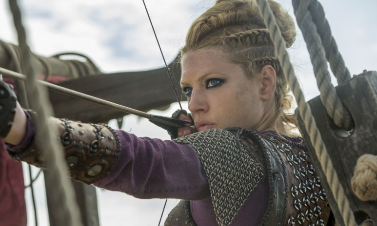 Lagertha is the epitome of fierce and formidable (cr- Jonathan Hession - HISTORY)