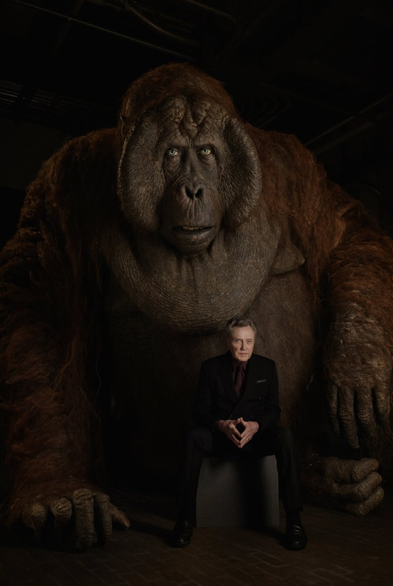 THE JUNGLE BOOK - Christopher Walken with King Louie