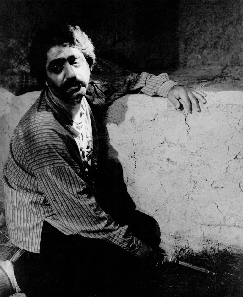 Ezat-Ollah Entezami in THE COW (Iran, 1969) a.k.a. GAAV, directed by Dariush Mehrjui.