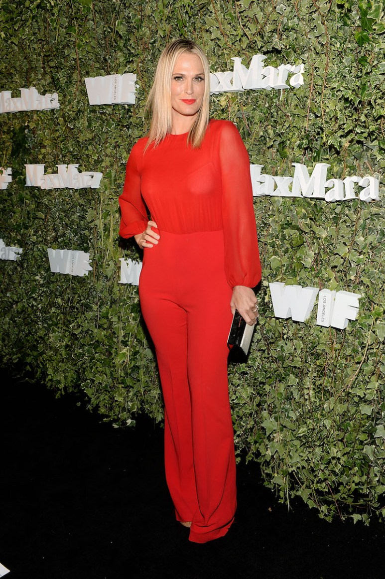 LOS ANGELES, CA - JUNE 14: Model Molly Sims, wearing Max Mara, attends Max Mara Celebrates Natalie Dormer - The 2016 Women In Film Max Mara Face Of The Future at Chateau Marmont on June 14, 2016 in Los Angeles, California. (Photo by Stefanie Keenan/Getty Images for Max Mara)