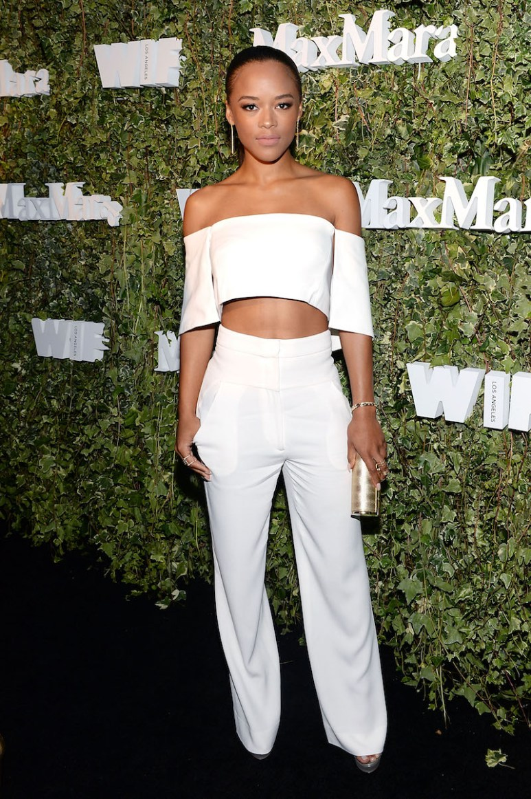 LOS ANGELES, CA - JUNE 14: Actress Serayah McNeill attends Max Mara Celebrates Natalie Dormer - The 2016 Women In Film Max Mara Face Of The Future at Chateau Marmont on June 14, 2016 in Los Angeles, California. (Photo by Stefanie Keenan/Getty Images for Max Mara)