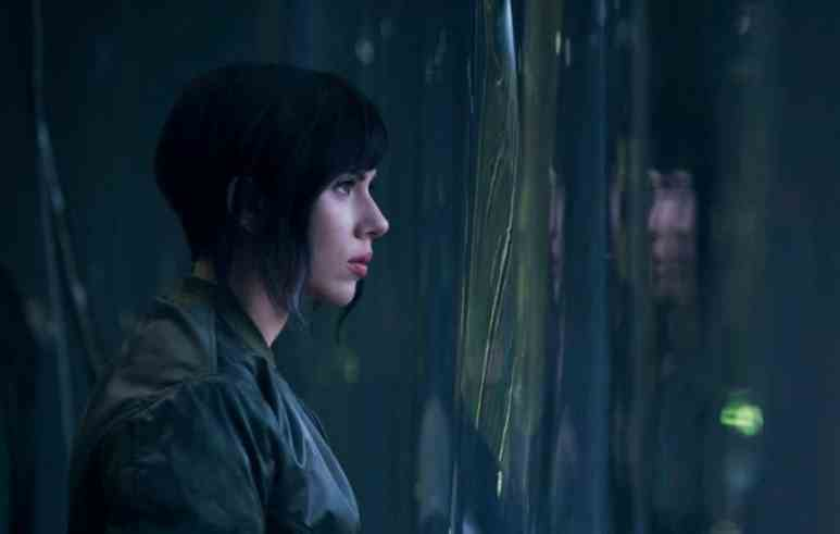 Scarlett in Ghost in the Shell, which will also be released next year