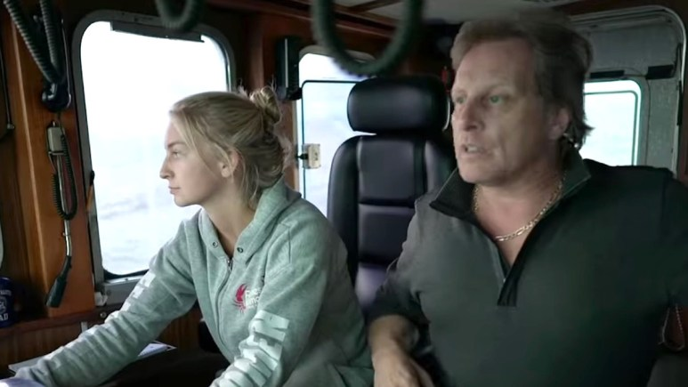 Mandy and Sig Hansen on Deadliest Catch