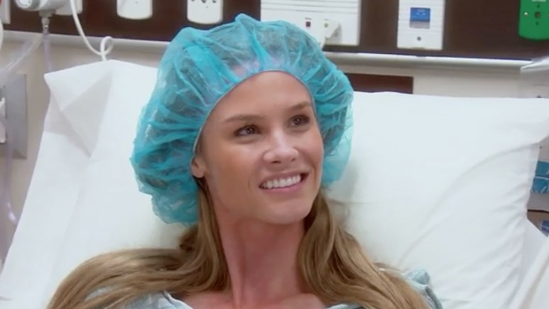 Meghan King Edmonds during her IVF treatment. Pic credit: Bravo