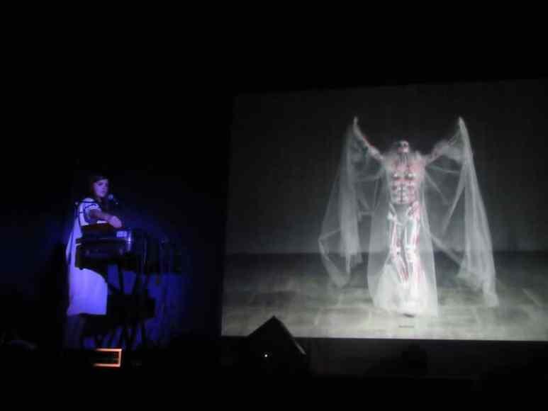 Julianna Barwick and Charles Atlas's mesmerizing set